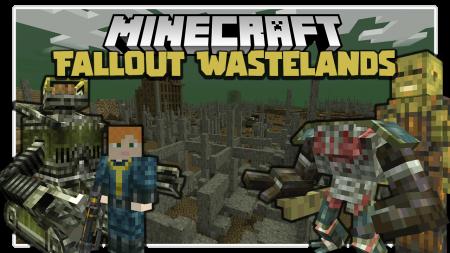 Скачать Fallout Wastelands для Minecraft 1.15