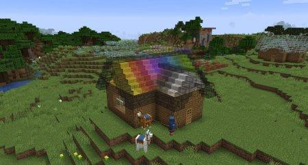 Скачать Mo Glass для Minecraft 1.16.5