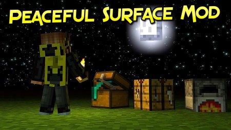 Скачать Peaceful Surface для Minecraft 1.16.5