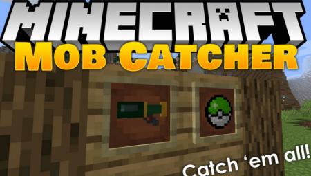 Скачать Mob Catcher для Minecraft 1.16.5