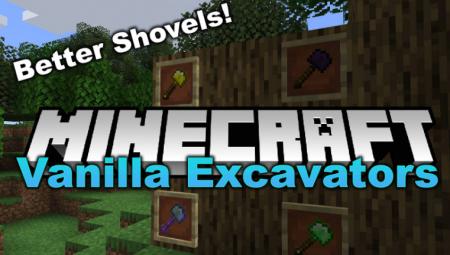 Скачать Vanilla Excavators для Minecraft 1.16.5