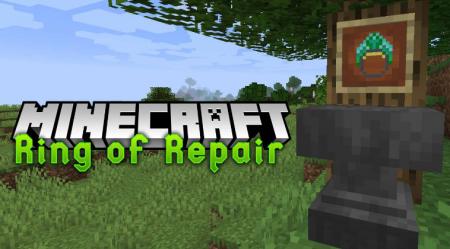 Скачать Ring of Repair для Minecraft 1.16.5