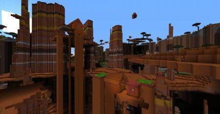 Скачать Ultra Amplified Dimension для Minecraft 1.16.5