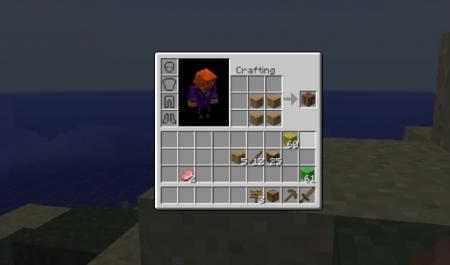 Скачать Inventory Crafting Grid для Minecraft 1.16.5