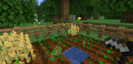 Скачать Harvest Mod для Minecraft 1.16.5