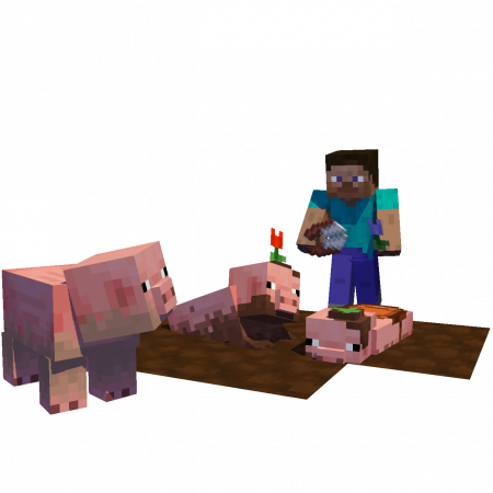 Скачать Earth Mobs для Minecraft 1.16.5