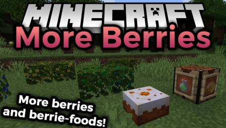 Скачать More Berries для Minecraft 1.14.4