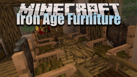 Скачать Iron Age Furniture для Minecraft 1.16.4