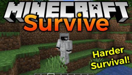 Скачать Survive Mod для Minecraft 1.16.5
