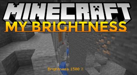 Скачать My Brightness для Minecraft 1.15.2