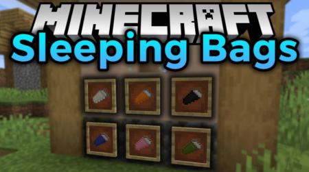 Скачать Sleeping Bags для Minecraft 1.15.1