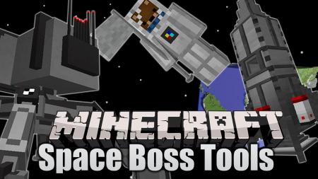 Скачать Space-BossTools для Minecraft 1.16.5