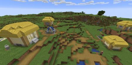 Скачать Thatched Villages для Minecraft 1.16.3