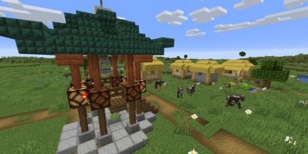 Скачать Thatched Villages для Minecraft 1.16.5