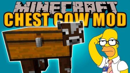 Скачать Chest Cow для Minecraft 1.16.5