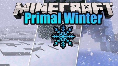 Скачать Primal Winter для Minecraft 1.16.5