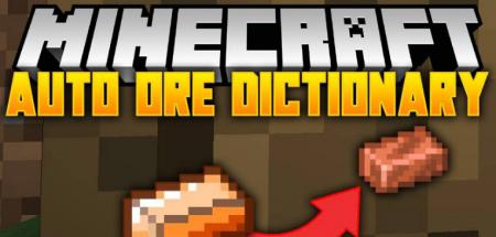 Скачать Auto Ore Dictionary Converter для Minecraft 1.16.5