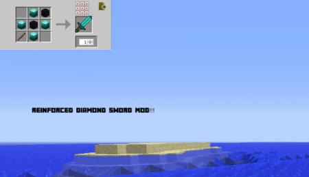 Скачать Reinforced Diamond Sword для Minecraft 1.16.5
