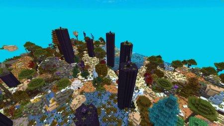 Скачать World Blender для Minecraft 1.15.1