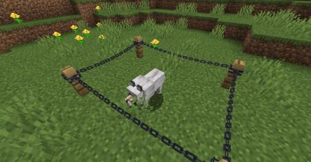 Скачать Connectible Chains для Minecraft 1.16.5
