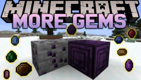 Скачать More Gems для Minecraft 1.15.2