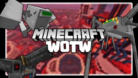 Скачать War of the Worlds для Minecraft 1.16.5
