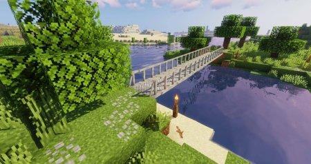 Скачать Macaw's Bridges для Minecraft 1.16.4