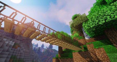 Скачать Macaw's Bridges для Minecraft 1.16.5