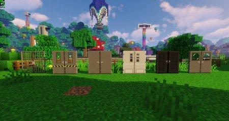 Скачать Macaw's Doors для Minecraft 1.16.4