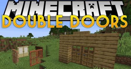 Скачать Double Doors для Minecraft 1.15.2
