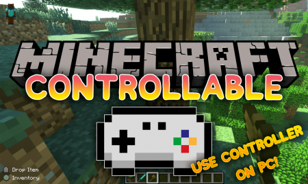 Скачать MrCrayfish's Controllable для Minecraft 1.16.3