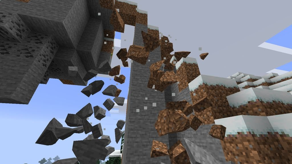 мод на майнкрафт 1.7.10 на бистре розрушения блоков #1