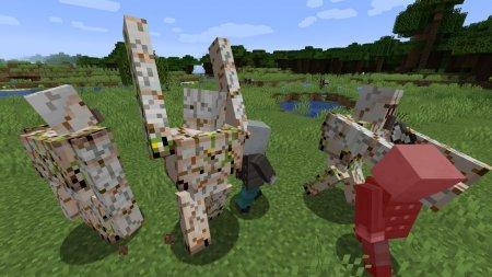 Скачать Better Golem для Minecraft 1.16.4