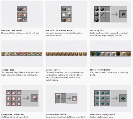 Скачать VanillaFoodPantry для Minecraft 1.16.3