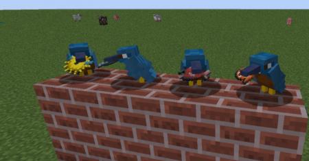 Скачать Exotic Birds для Minecraft 1.10.2