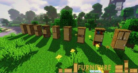 Скачать Macaw's Furniture для Minecraft 1.15.1