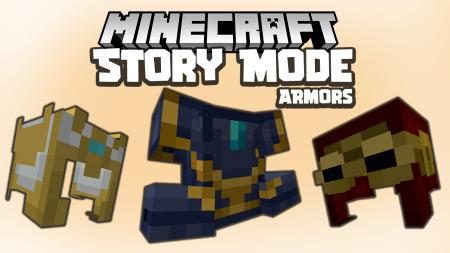 Скачать MC Story Mode Armors для Minecraft 1.16.4