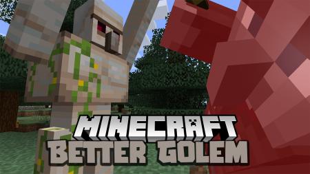 Скачать Better Golem для Minecraft 1.16.3