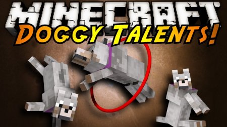 Скачать Doggy Talents для Minecraft 1.15.1