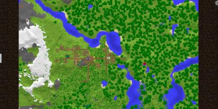 Скачать Travellers Map для Minecraft 1.16