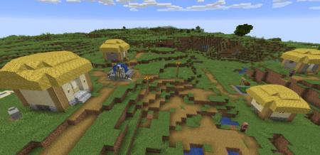 Скачать Thatched Villages для Minecraft 1.16.2