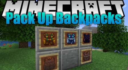 Скачать Packed Up Backpacks для Minecraft 1.16.4