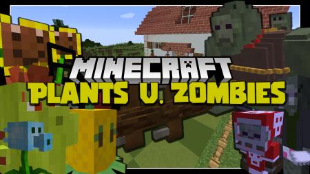 Скачать Plants and Zombies для Minecraft 1.15.1