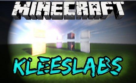 Скачать KleeSlabs для Minecraft 1.16.5