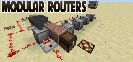 Скачать Modular Routers для Minecraft 1.16.4