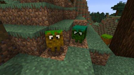 Скачать Grasslings для Minecraft 1.16.4