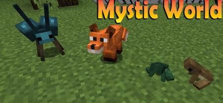 Скачать Mystic World для Minecraft 1.15.2