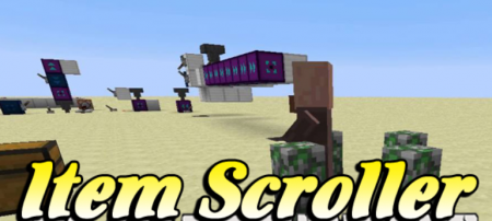 Скачать Item Scroller для Minecraft 1.16.5