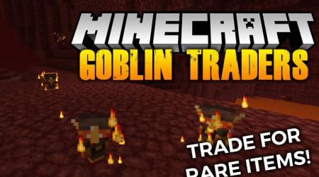Скачать MrCrayfish's Goblin Traders для Minecraft 1.16.5
