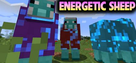 Скачать Energetic Sheep для Minecraft 1.15.1